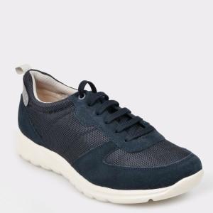 Pantofi sport GEOX bleumarin, U920Ha, din material textil