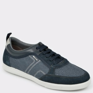 Pantofi sport GEOX bleumarin, U922Ca, din material textil