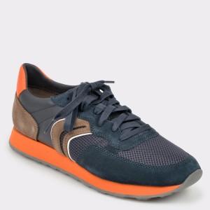 Pantofi sport GEOX bleumarin, U845Vb, din material textil