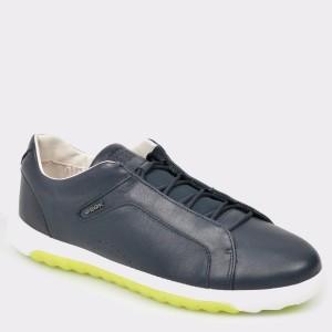 Pantofi GEOX bleumarin, U927Ga, din piele naturala