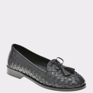 Pantofi Flavia Passini Negri, 519klar, Din Piele Naturala