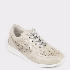Pantofi sport FLAVIA PASSINI crem, 9W1953, din piele naturala