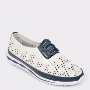 Pantofi FLAVIA PASSINI bleumarin, 8W2012, din piele naturala