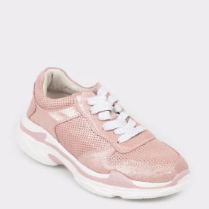 Pantofi sport FLAVIA PASSINI roz, 9W8101, din piele naturala