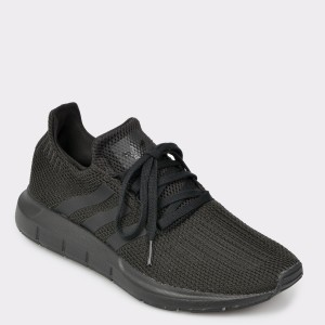 Pantofi sport ADIDAS negri, Aq0863, din material textil