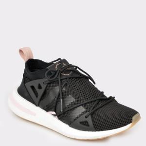Pantofi sport ADIDAS negri, Bd7575, din material textil