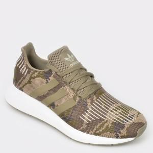 Pantofi sport ADIDAS kaki, Bd7976, din material textil