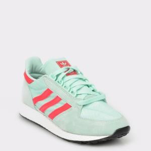 Pantofi sport ADIDAS verzi, Cg6124, din material textil