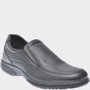 Pantofi Imac Negri, 201780, Din Piele Naturala