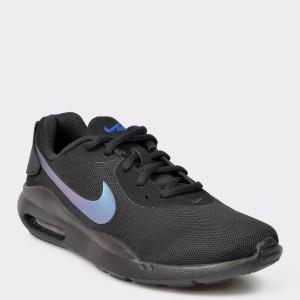 Pantofi NIKE negri, 1, din piele material textil