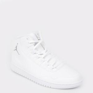 Pantofi sport NIKE albe, 820240, din piele ecologica