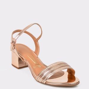 Sandale VIZZANO aurii, 6291144, din piele ecologica