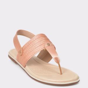 Sandale nude, 7131104, din piele ecologica