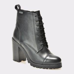 Botine Pepe Jeans Negre, Ls50304, Din Piele Naturala