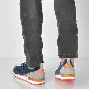Pantofi Sport Pepe Jeans Bleumarin, Ms30411, Din Piele Naturala
