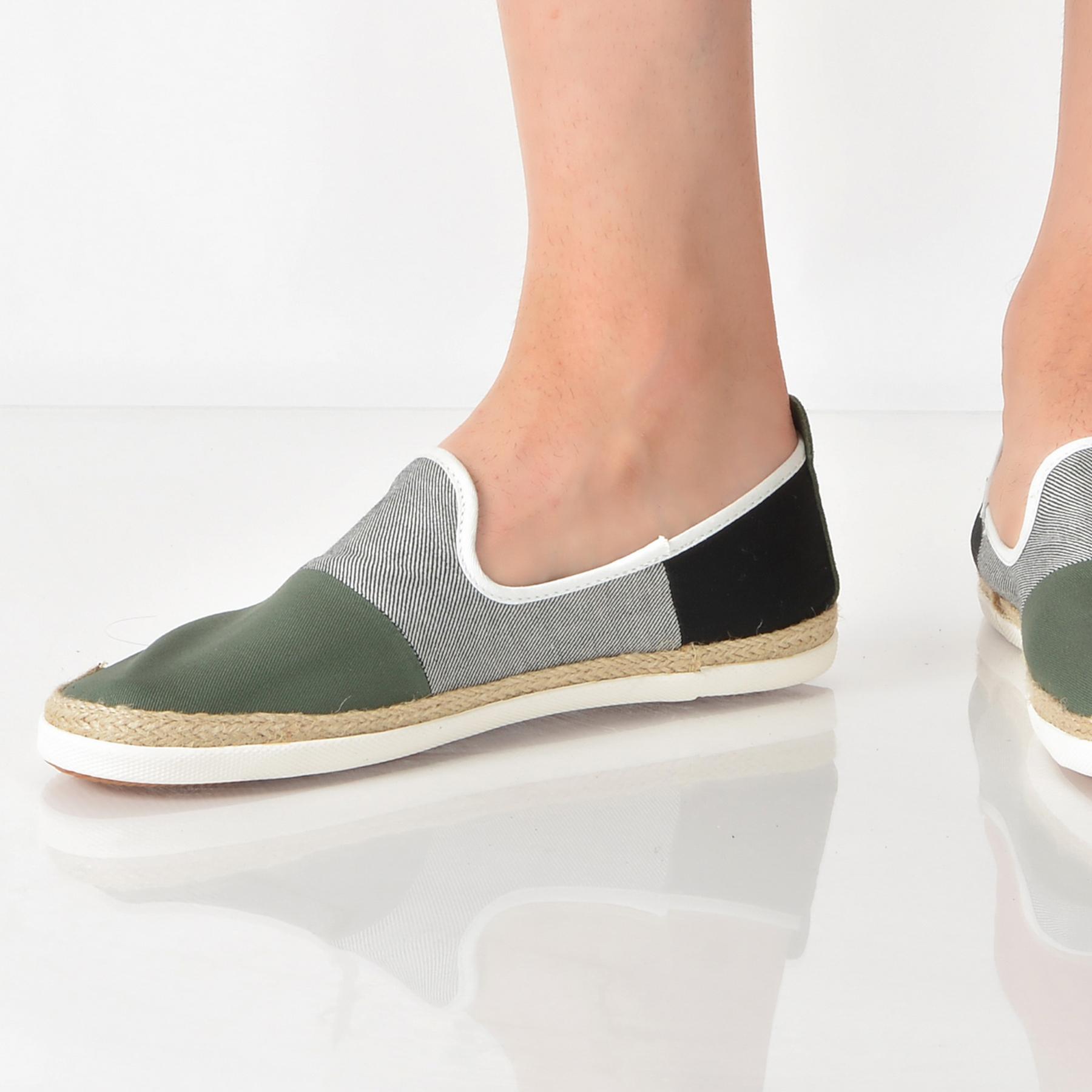 Espadrile Pepe Jeans Verzi, Ms10227, Din Material Textil