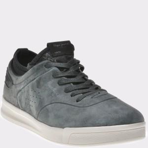 Pantofi PEPE JEANS negri, Ms30471, din piele intoarsa