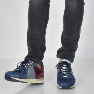 Pantofi Sport Pepe Jeans Bleumarin, Ms30485, Din Piele Intoarsa