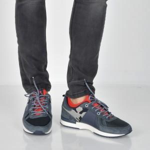 Pantofi sport PEPE JEANS bleumarin, Ms30488, din piele intoarsa