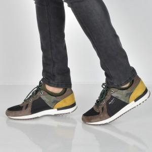 Pantofi sport PEPE JEANS multicolori, Ms30488, din piele intoarsa