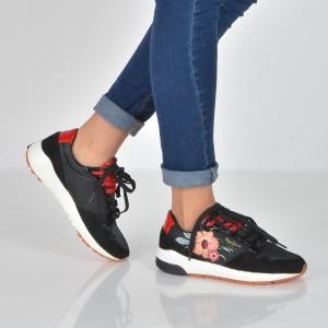 Pantofi Pepe Jeans Negri, Ls30790, Din Piele Ecologica Si Material Textil