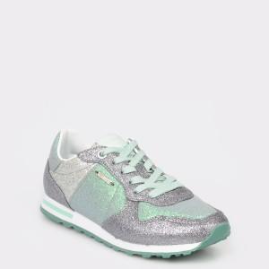 Pantofi sport PEPE JEANS verzi, Ls30797, din piele ecologica