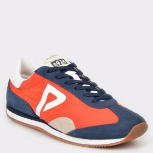Pantofi sport PEPE JEANS rosii, Ms30513, din material textil