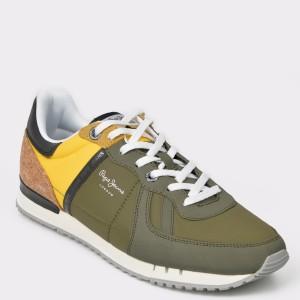 Pantofi sport PEPE JEANS kaki, 1, din material textil