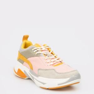 Pantofi sport PEPE JEANS roz, Ls30836, din material textil