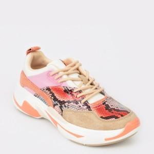 Pantofi sport PEPE JEANS multicolori, Ls30838, din piele ecologica
