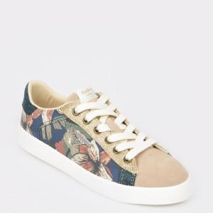 Pantofi sport PEPE JEANS bej, Ls30848, din material textil