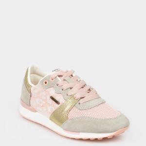Pantofi PEPE JEANS roz, Ls30862, din combinatii div.