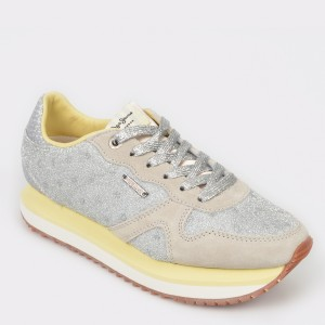 Pantofi sport PEPE JEANS Gri, Ls30827, din material textil