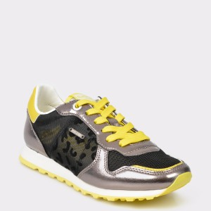 Pantofi sport PEPE JEANS negri, 1, din material.textil