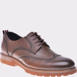 Pantofi Otter Maro, Zd28m2, Din Piele Naturala