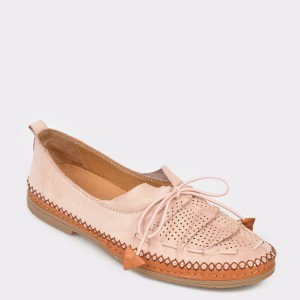 Pantofi FLAVIA PASSINI bej, 155704, din piele naturala