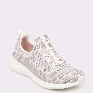Pantofi sport SKECHERS roz, 12840, din material textil