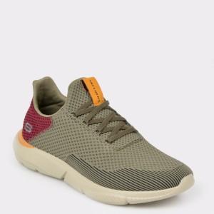 Pantofi sport SKECHERS kaki, 65867, din material textil