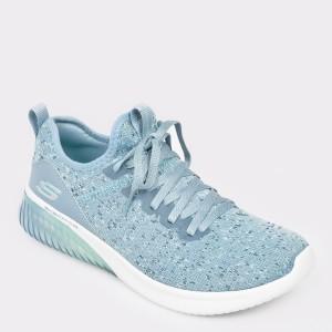 Pantofi sport SKECHERS albastri, 13291, din material textil