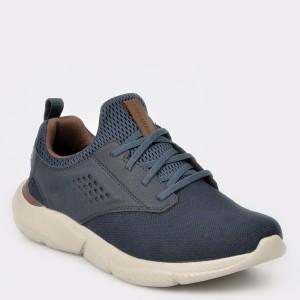 Pantofi sport SKECHERS bleumarin, 65862, din piele ecologica
