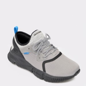 Pantofi sport SKECHERS gri, 51902, din material textil