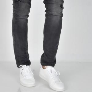 Pantofi LE COQ SPORTIF albi, 1820245, din piele ecologica