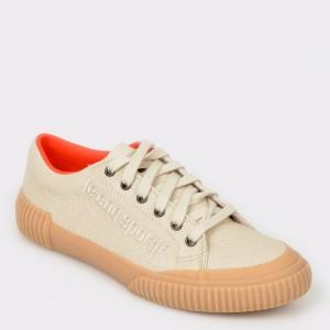 Pantofi sport LE COQ SPORTIF crem, 1910537, din material textil