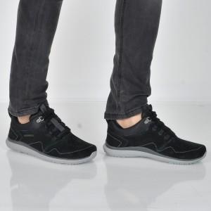 Pantofi sport MERRELL negri, Getloll, din piele intoarsa