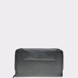Portofel EPICA negru, 4486G13, din piele naturala