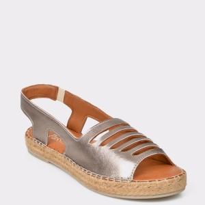 Sandale FLAVIA PASSINI gri, 8018, din piele naturala