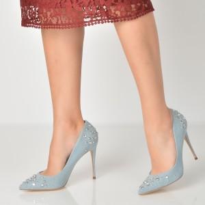 Pantofi Aldo Albastri, Kristensen, Din Material Textil