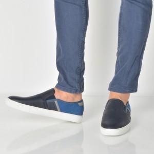 Pantofi ALDO bleumarin, Vicien, din piele ecologica