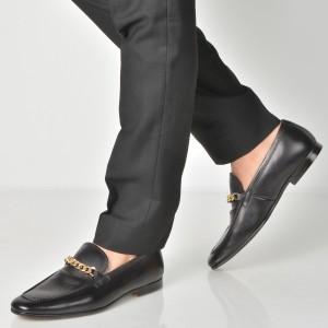 Pantofi ALDO negri, Royton, din piele naturala