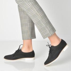 Pantofi Aldo Negri, Pantoja, Din Piele Naturala